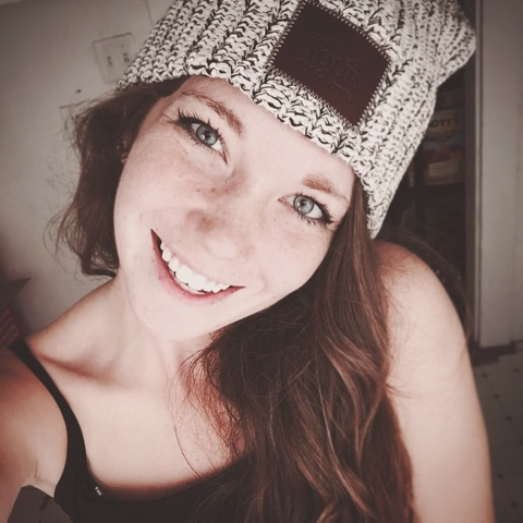 This is my beautiful niece sporting her Love Your Melon beanie b25e1c42eec