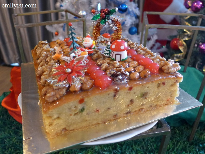 Tower Regency Hotel Christmas food preview