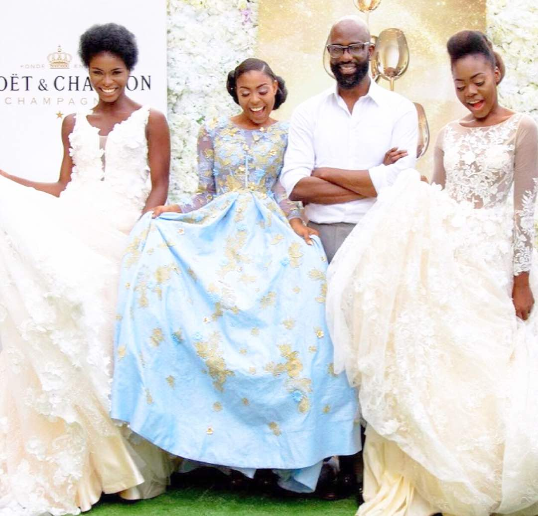 One Of Africa S Leading Designers Mai Atafo Has Unveiled His New Bridal Collection Named The Heart Unique Which Readily Stands
