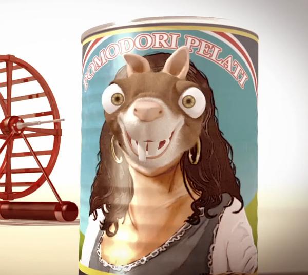 Will & The Wheel.  Curta-metragem de animação
