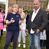 OIC - ENTSIMAGES.COM - Mayhew Dogs Home speaker at the Puppy Farming Protest - demonstration and photocall 24th May 2016, rally and photocall in London's Parliament Square to raise awareness of the UK's cruel puppy farming trade, in association with PupAid, Boycott Dogs4Us and C.A.R.I.A.D.  Photo Mobis Photos/OIC 0203 174 1069