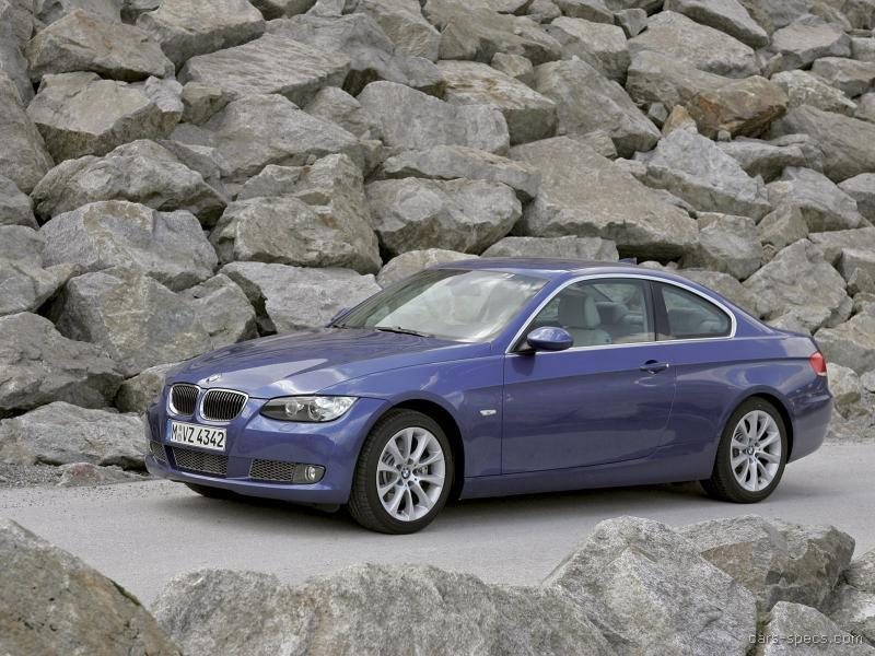 2008 bmw 3 series coupe specifications pictures prices. Black Bedroom Furniture Sets. Home Design Ideas