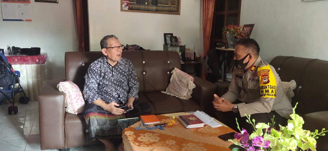 Satuan Binmas Polres Soppeng Silaturahmi ke Tokoh Agama dan Masyarakat, Ini Tujuannya