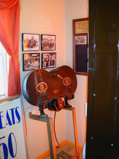 Orchard Lake Museum Tour 2006 - mvecinemacorner.JPG