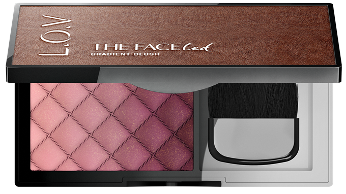 L_O_V THE FACEted gradient blush 100_open