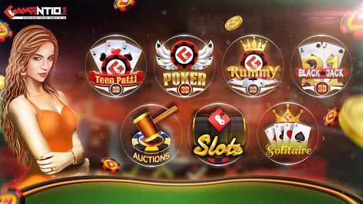 Gamentio 3D: Poker Teenpatti Rummy Slots +More 2.0.18 screenshots 1