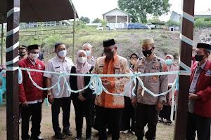 Polres Soppeng Bersama Pemkab Resmikan Pondok Asrama Santri Ponpes Darunnaiem Desa Pesse