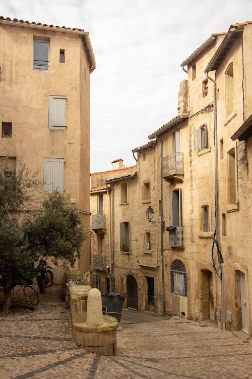 Typical street, Montpellier