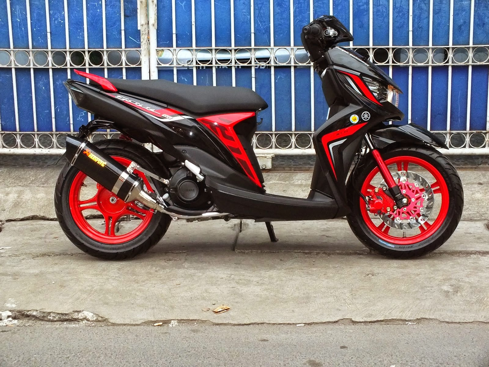 88 Modifikasi Scoopy Fi Velg 14 Kumpulan Modifikasi Motor Scoopy