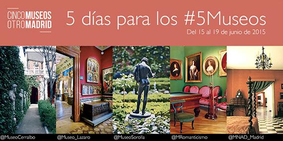 5 días para los #5Museos