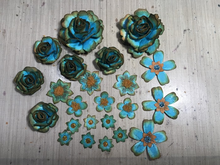 44 All the Turquoise Flowers