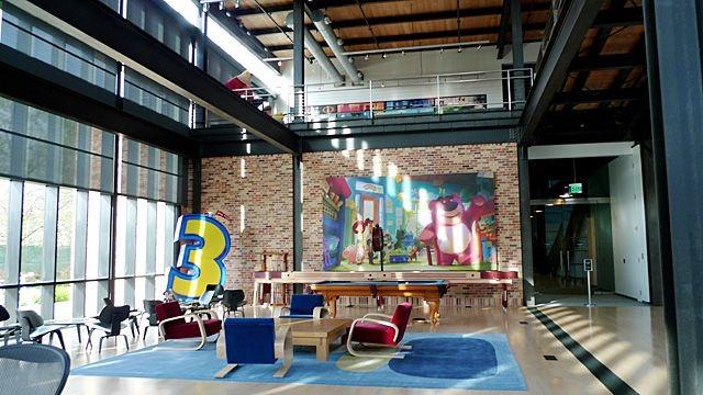 Pixar Cafeteria
