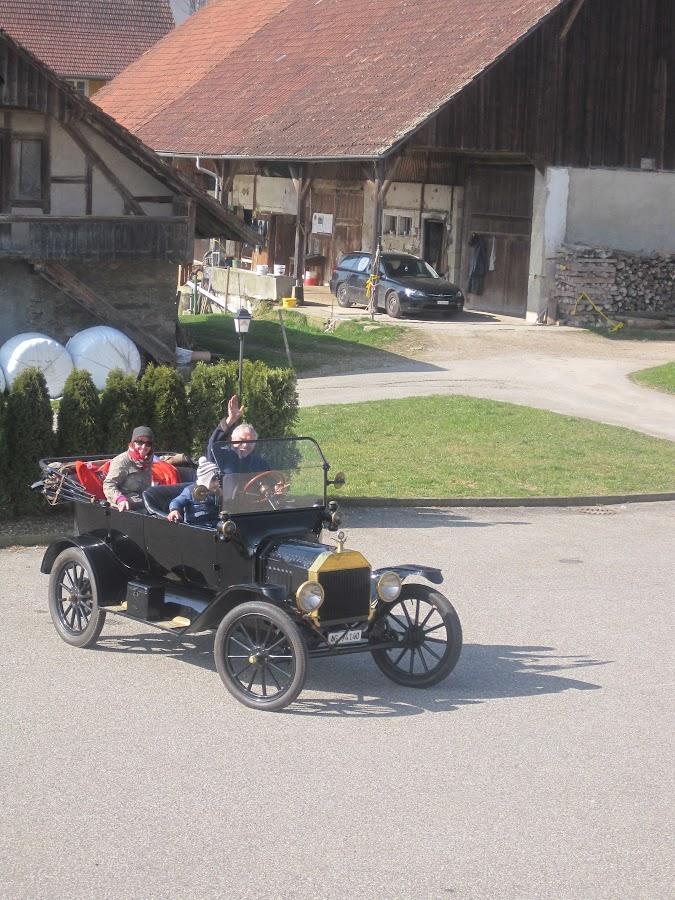 Oldtimertreffen, Ausflug ins Kurhaus Ohmstal 30.3.2014
