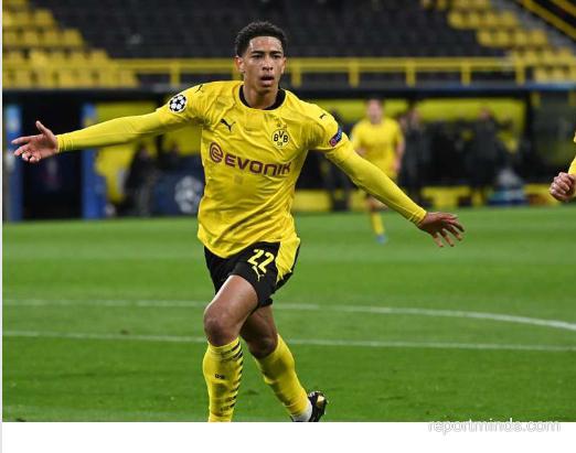Dortmund's starlet Jude Bellingham set new Champions League record