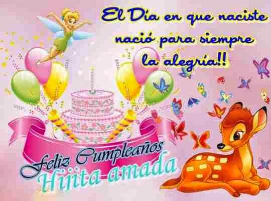 Felicitaciones de cumpleaños para niñas
