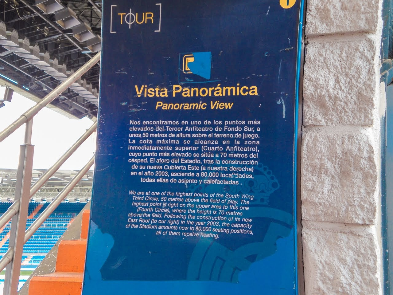 A sign for the Panoramic View