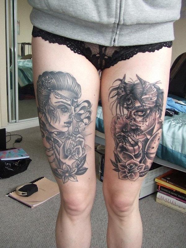 anjo_e_demnio_sexy_coxa_tatuagens