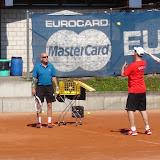 05.08.2015 Tennislehrer in Aktion!