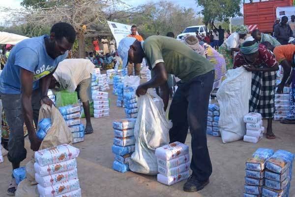 Name of Kilifi MCA who opened wholesale from stolen relief food, Photos and Videos