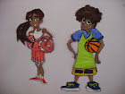 VBS Sports Theme Sanctuary Wall Characters