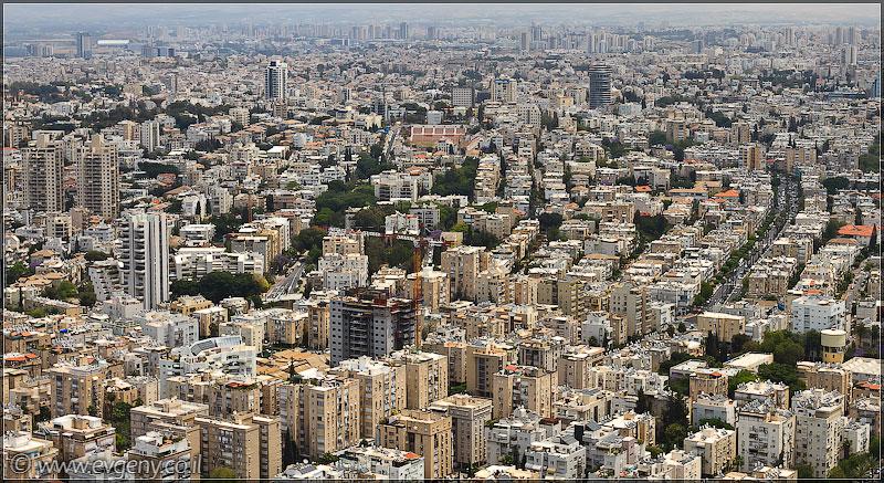 Дома изнутри: На крыше Азриэли | LookAtIsrael.com - Фотографии Израиля и не только...