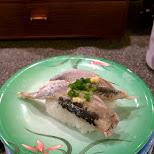 Heiroku Sushi in Harajuku in Tokyo, Tokyo, Japan