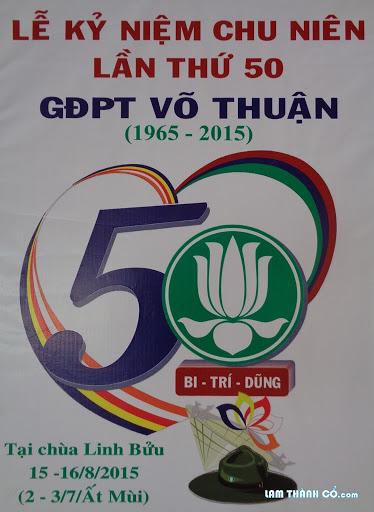 Công tác chuẩn bị Lễ chu niên GĐPT Võ Thuận
