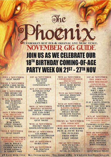 phoenix november poster