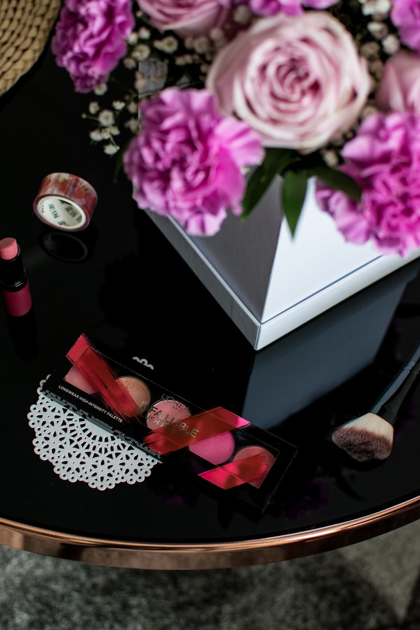 L'Oreal, Infaillible Blush Paint / The Pink | Cukierkowa paleta róży