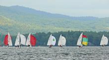 J/22s sailing Lake George Regatta