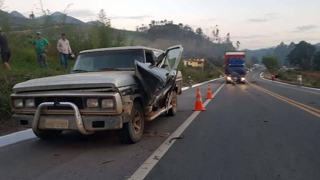 Adolescente de 16 anos morre em acidente na BR-116, em Manhuaçu