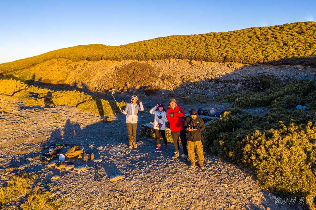 奇萊南華 奇萊南峰 日出 黃金大草原