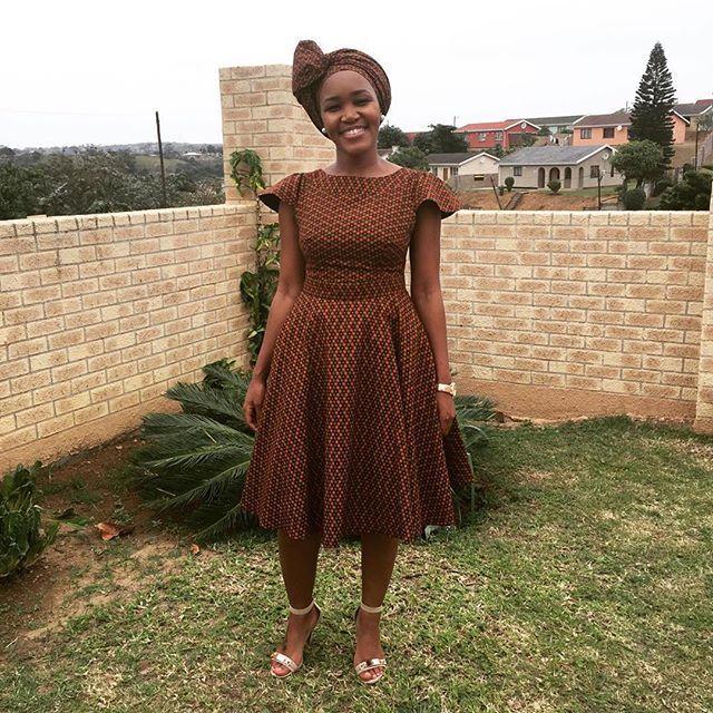 Modern Shweshwe Traditional Dresses Top Of Fashion 2018
