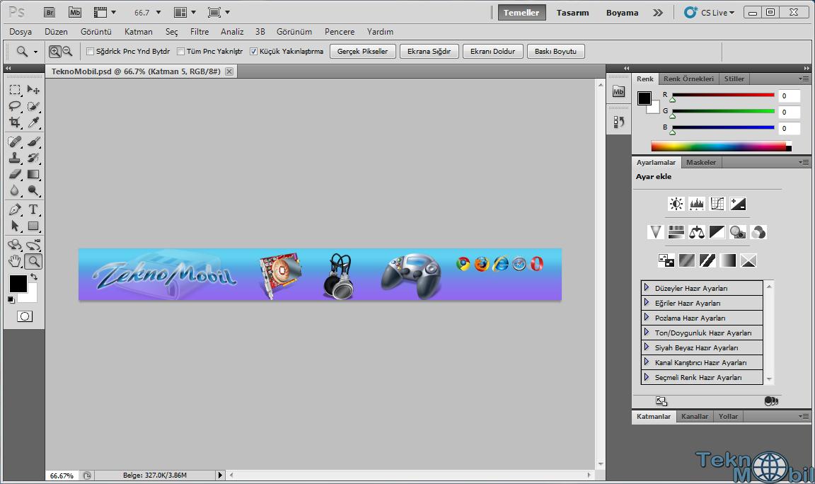Adobe PhotoShop Cs5.1 12.1 Türkçe Full