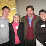 Paul Mathieson (Dover Squash Pro), Wendy Berry, John Nimick, Susan Greene
