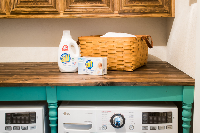 Storage ideas for the laundry room