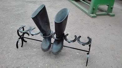 Photo: Proyecto de soporte para botas