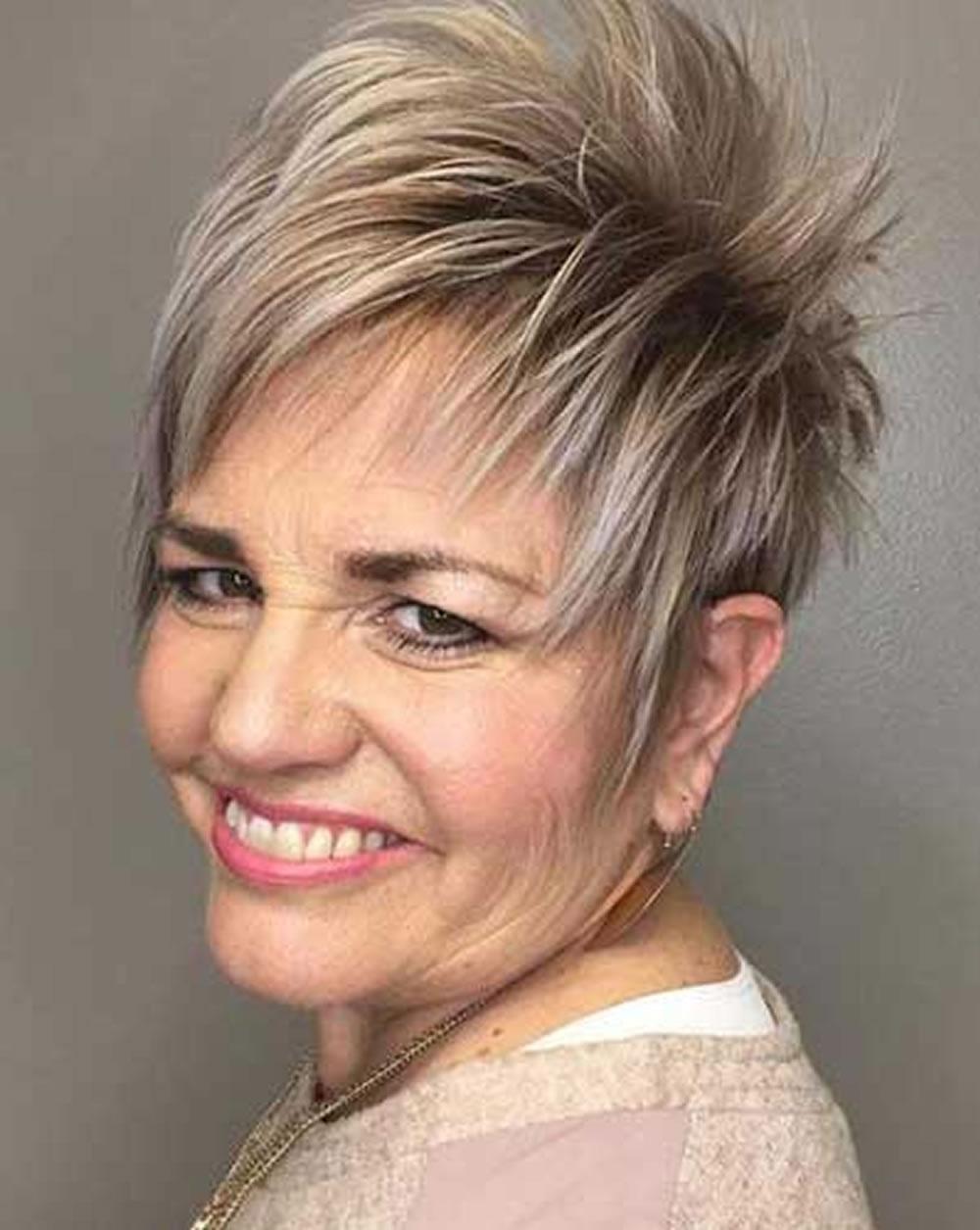 Best Short Hairstyles For Older Women Over 45