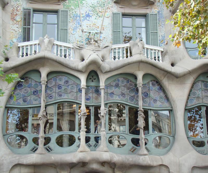 Gaudi, architecture, Casa Batlo, Barcelona, voyages, travel, blogger, elisaorigami