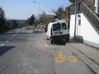 Chemin des Seillères : piste impraticable. Photo : Lionel