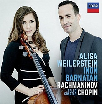 CD REVIEW: Chopin & Rachmaninov - MUSIC FOR CELLO & PIANO (DECCA 478 8416)