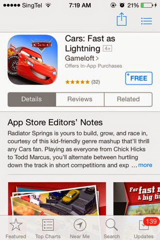 Fast game as download lightning