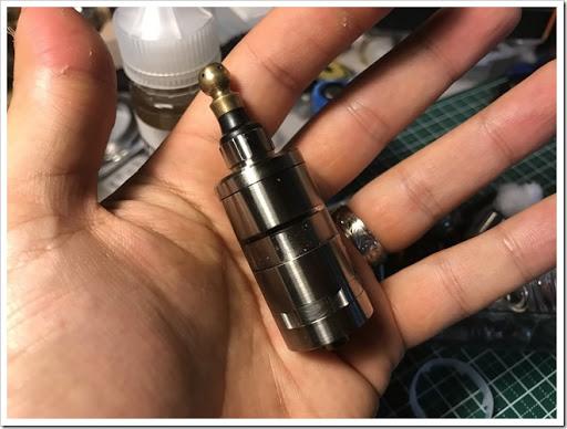 IMG 6140 thumb - 【究極のRTA?】Titanium Mods ATAMAN III RTAレビュー!フレーバーチェイス向けのリキッドをより上のレベルに進化させる至高のRTA!