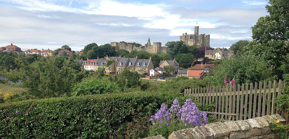 Warkworth mit Schloss