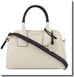 Kate Spade contrast trim leather shoulder bag