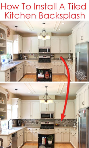 How Much To Install Backsplash How To Install A Pencil Tile Backsplash And  What It Costs Nice Look