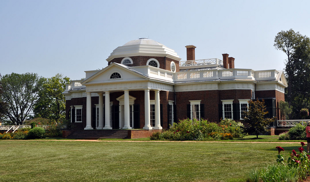 Monticello thomas jefferson charlottesville virginia for Thomas jefferson house monticello