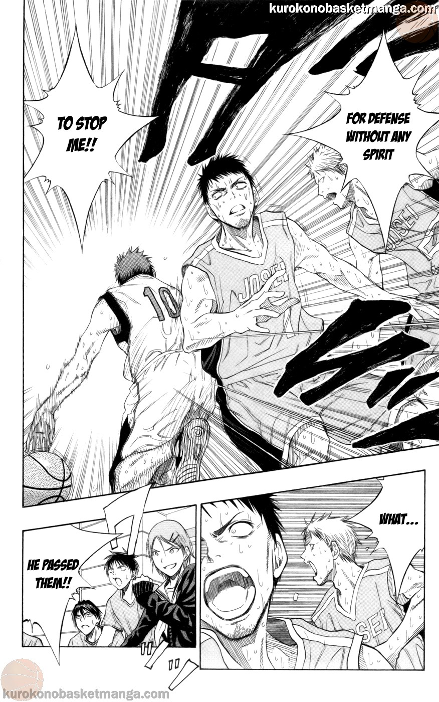 Kuroko no Basket Manga Chapter 83 - Image 10
