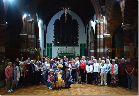 Harvest Hoe-down and Supper - group photo
