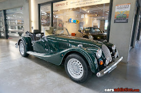 Morgan in british racign green